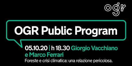 Il clima che cambia/Giorgio Vacchiano e Marco Ferrari biglietti