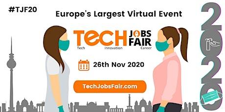 Virtual EU Tech Jobs Fair 2020 tickets
