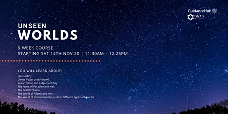 Unseen Worlds - (Every Sat from 14th Nov | 9 Weeks | 11:30AM) tickets