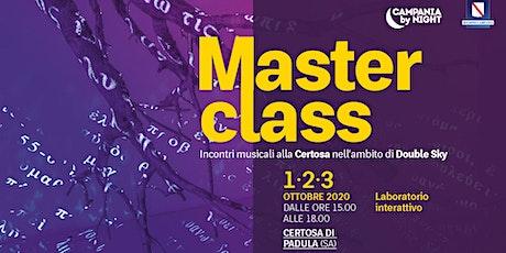 Masterclass N. 1 -  Double Sky biglietti