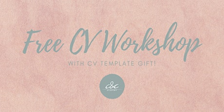 CV Workshop with CV template gift! tickets