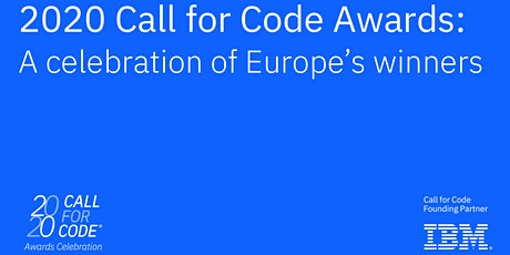 2020 Call for Code Awards: a Celebration of Europe's Winners tickets
