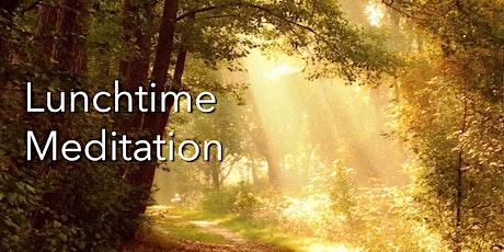 Tuesdays & Thursdays: 30 minute lunchtime online meditation