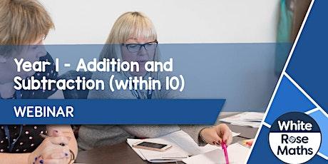 **WEBINAR** Year 1 Addition & Subtraction - 13.10.20 tickets