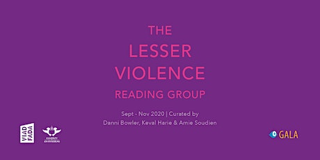 Lesser Violence with Dee Marco & Kathleen Ebersohn | 21 October 2020 tickets