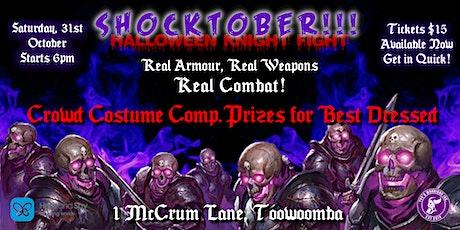 Saturday Knight Fights: Shocktober tickets