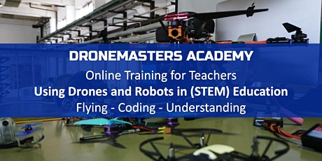 Online Training for Teachers - Drones in Education - Berlin Science Week tickets