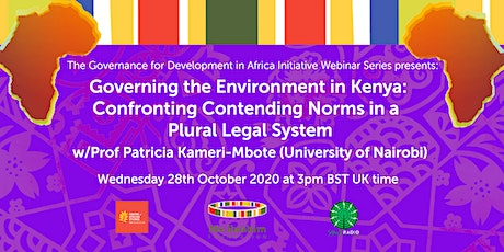 GDAI5: 'Governing the Environment in Kenya' with Prof Kameri-Mbote tickets