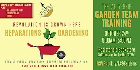 Garden Team Training tickets