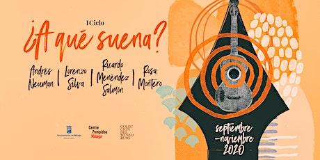 """CICLO DE CONFERENCIAS LITERARIO - MUSICALES """"¿A QUÉ SUENA?"""" tickets"""