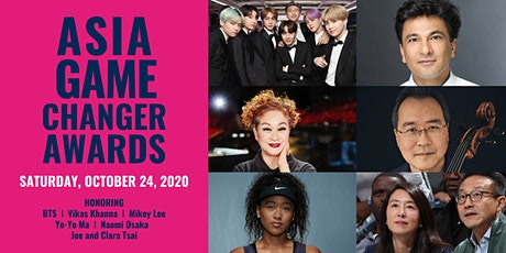 [CANCELLED] Celebrating 2020 Asia Game Changer Award Honorees tickets
