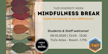 Mindfulness Break - Diversity Week tickets