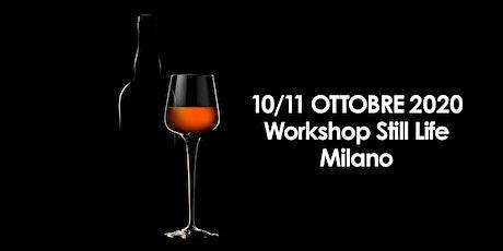 Workshop di fotografia still life a Milano biglietti