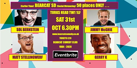 Early Start Bearcat Comedy SD - 50 places only tickets
