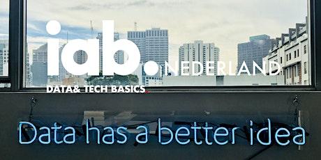 IAB Nederland Webinar -  Data & Techniek Basics tickets