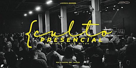 Culto Domingo | 10H - Lagoinha Savassi ingressos