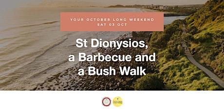St Dionysios, Barbecue and a Bush Walk tickets
