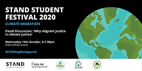 STAND Fest 2020 Panel Discussion: Why migrant justice is climate justice tickets