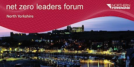Net Zero Leaders Forum - North Yorkshire tickets