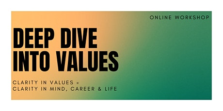 Deep Dive into Values workshop tickets