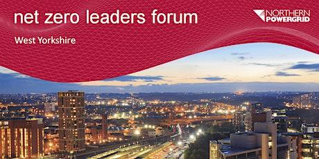 Net Zero Leaders Forum - West Yorkshire tickets