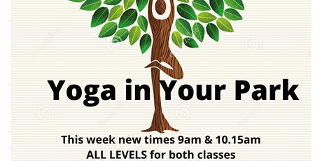 ALL LEVELS - Yoga with your Neighbours Sat 9am - €5 offering tickets
