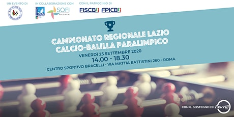 Campionato Regionale Calcio-Balilla biglietti