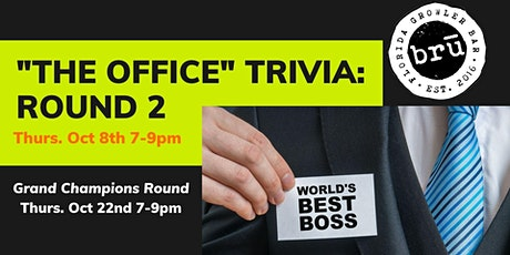 """""""The Office"""" Themed Trivia- Round 2 tickets"""