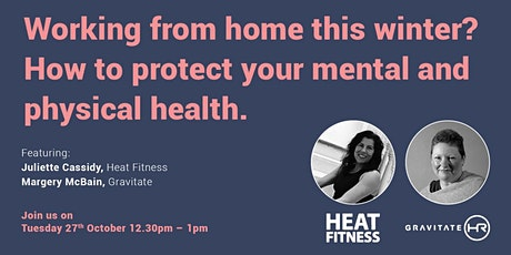 Working from home this winter? Help protect your mental and physical health tickets