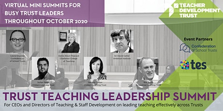 TDT Trust Teaching Leadership Mini Summits tickets