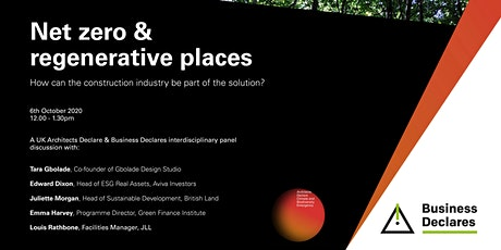 Architects Declare and Business Declares Panel Discussion tickets