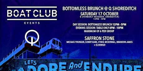 Boat Club @ Q Shoreditch (Evening Session) tickets