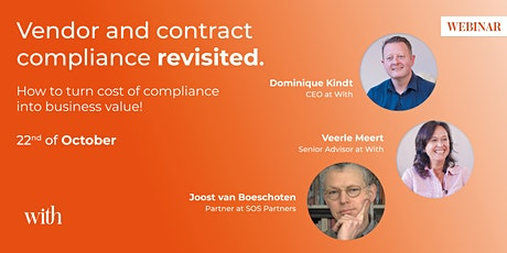 """Vendor and contract compliance """"revisited"""". tickets"""