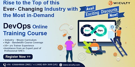DevOps Online Training | Instructor LED & Pure Hands-on Training | Join Now tickets
