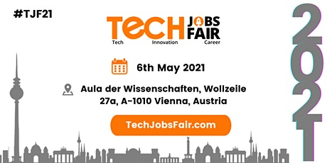 Tech Jobs Fair Vienna - 2021 tickets