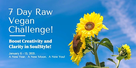 Boost Creativity and Clarity in SoulStyle!  7-Day Raw Vegan Challenge tickets