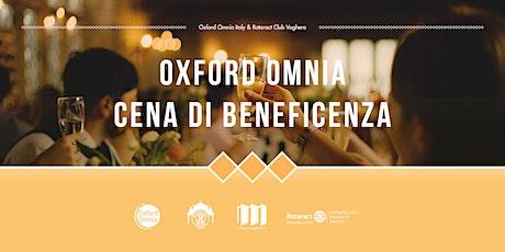 OXFORD OMNIA CENA DI BENEFICENZA biglietti