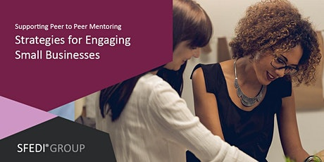 Supporting Peer to Peer Mentoring: Strategies for Engaging Small Businesses tickets