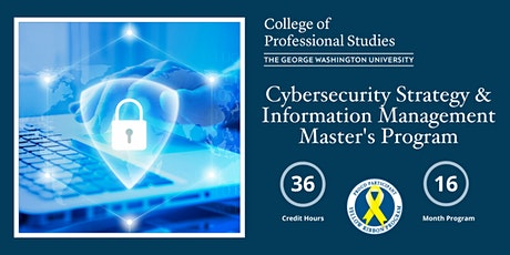Cybersecurity Strategy & Information Management Program Online Info Session tickets