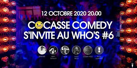 Cocasse Comedy  #Come Back billets