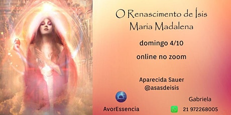 O Renascimento de Ísis - Maria Madalena ingressos