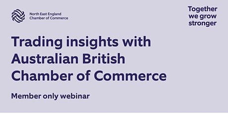 Trading Insights with Australian British Chamber of Commerce tickets