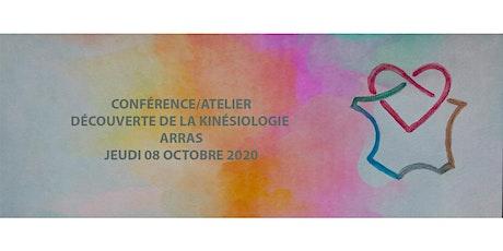 Conférence/Atelier Kinésiologie Arras billets