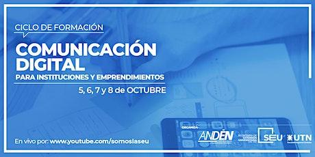 Comunicación Digital para Instituciones y emprendimientos entradas