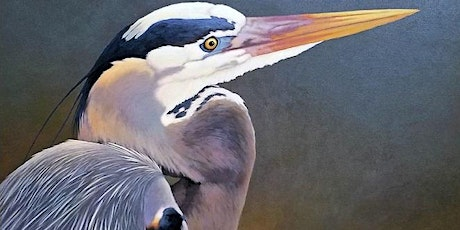 ONLINE - Create a Great Blue Heron Painting with Addison Palmer tickets