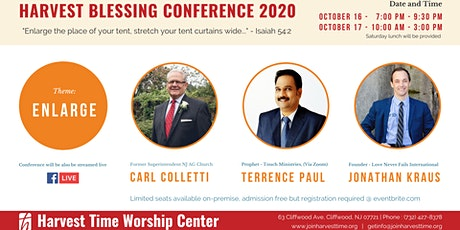 Harvest Blessing Conference 2020 tickets