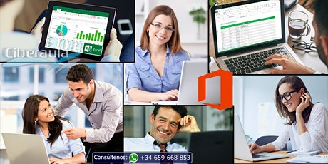 Curso online de Microsoft Office 2016 Básico - Intermedio tickets