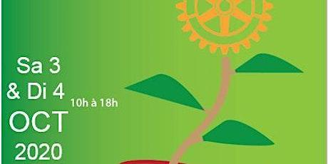 Marché aux plantes et aux fleurs du Rotary au Raincy , les  3 et 4 Octobre billets