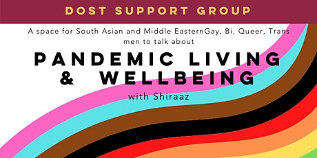 DOST Wellbeing Support Group for South Asian and Middle Eastern Men tickets
