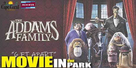 Movie in the Park Featuring The Addams Family tickets